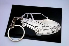 Unique keychain made in the shape of Honda Civic 6