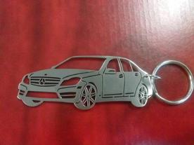 Keychain on model Mercedes C 250 2010