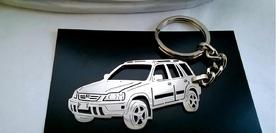 Unique keychain made in the shape of Honda cr-v 1998