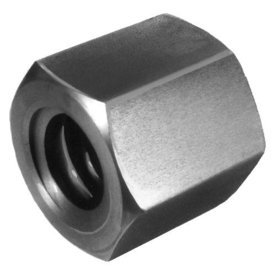 Hexagon nut with trapezoidal thread 16x4 DIN 103