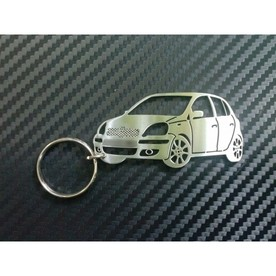 Keychain design of Toyota Yaris