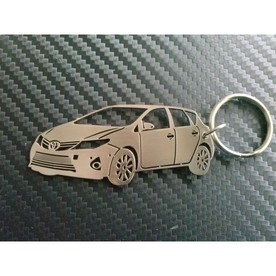 Keychain designed by Toyota Auris 2012