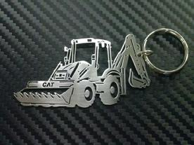 Keyholder with the shape of Excavator