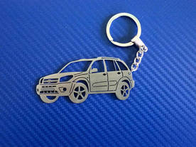 Key chain model Toyota RAV 4 v0.1