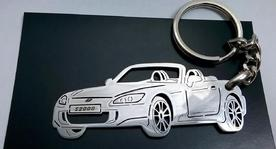 Keychain in the shape of Honda s2000