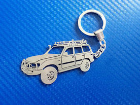 Toyota Land Cruiser 80 Key Chain Model