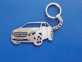 Mercedes GLA 250 4matic key chain