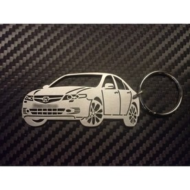 Unique keychain made in the shape of .Honda Accord 7